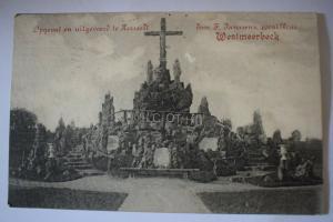 Ak Westmeerbeck, Opgevat en uitgevoerd le Hersselt, 1919 gelaufen