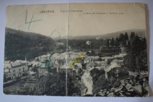 Ak Laroche, Vue de Chession, Grand Hotel de Ardennes ,  1914 gelaufen