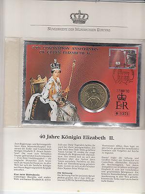 Großbritannien 40 Jahre Königin Elizabeth II