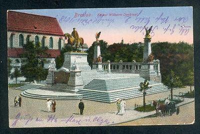 Breslau Kaiser Wilh. Denkm.1918   weitere Karten  Shop