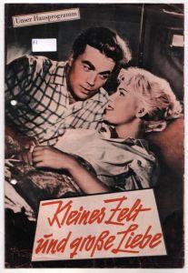 Original Filmprogramm Unser Hausprogramm Kleines Zelt und große Liebe