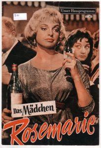 Original Filmprogramm Nr. 4044 Das Mädchen Rosemarie