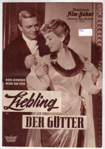 Illustrierte Film-Bühne IFB vereinigt mit Illustr. Film-Kurier Nr. 05238 Liebling der Götter. Bavaria Filmverleih