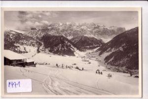 AK Italien SELVA verso il Gruppo di Sella Gardena Dolomiti, Wolkenstein gegen Sellagruppe Gröden Dolomiten ungelaufen