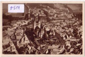 AK Fliegeraufnahme Luftbild Das schöne Deutschland, Bild 152: Quedlinburg, Dom, Reichswinterhilfe-Lotterie 1934/35 ungelaufen