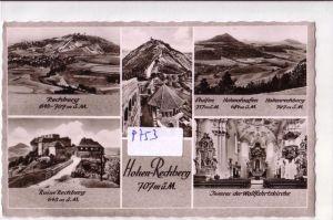 AK Hohen-Rechberg Mehrbildkarte Rechberg, Ruine Rechberg, Inneres der Wallfahrtskirche, ungelaufen