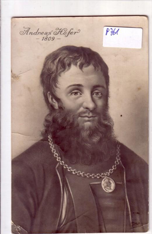 AK Andreas Hofer 1809 ungelaufen