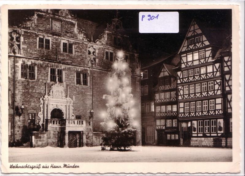 Weihnachtsgruß aus Hann. Münden