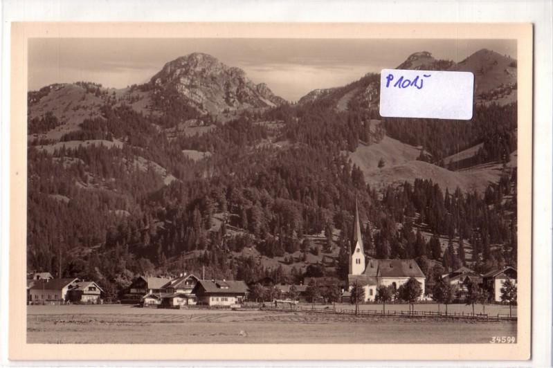 AK Bayrischzell mit Wendelstein