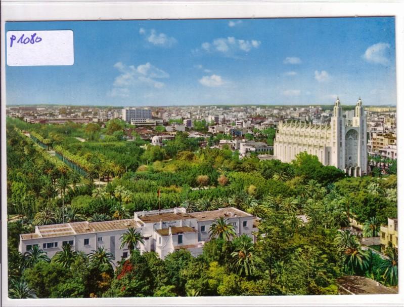 AK Marokko Casablanca Vue Generale Cathedrale