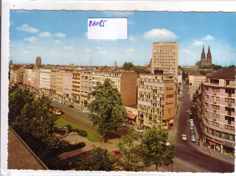 Köln Kaiser-Wilhelm-Ring mit Dom