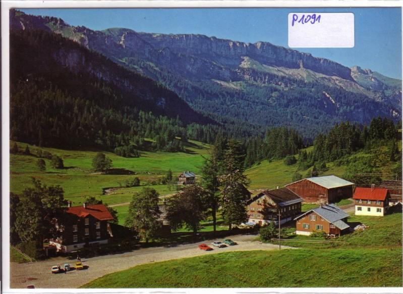 AK Oberstdorf Tiefenbach Berggasthof Rohrmoos Friedrichs