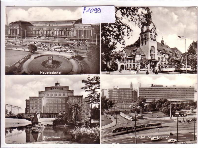 AK Leipzig Messestadt Mehrbildkarte