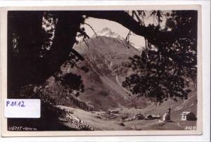 AK Vent Österreich Stempel HOTEL VENT 1930 gelaufen