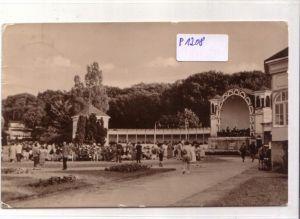 AK Ostseebad Göhren Rügen Konzertplatz 1960 gelaufen