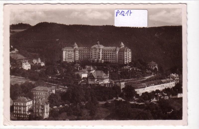 AK Tschechien Karlsbad Hotel Imperial
