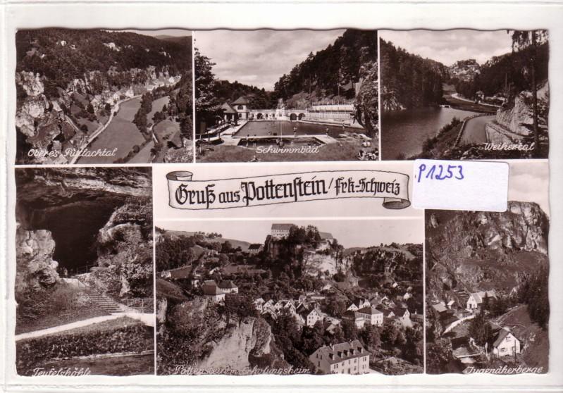 AK Pottenstein Fränkische Schweiz