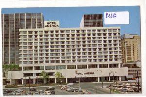 AK USA Hotel America Constitution Plaza Hartford Connecticut ungelaufen