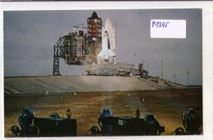 AK USA Space Shuttle Kennedy Space Center Pad A at Complex 39 NASA 1982 gelaufen