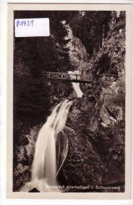 AK Wasserfall Allerheiligen im Schwarzwald Oppenau ungelaufen