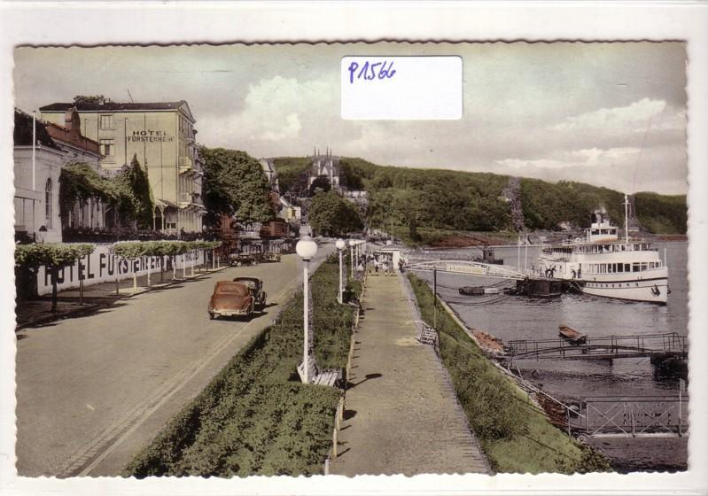 Remagen am Rhein Rheinpromenade Hotel Fürstenberg