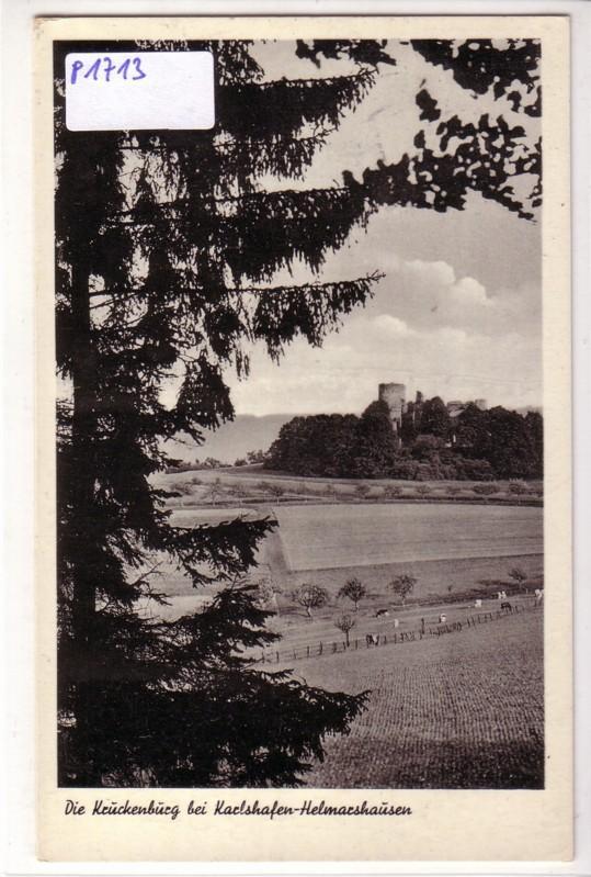 Kruckenburg Karlshafen-Helmarshausen