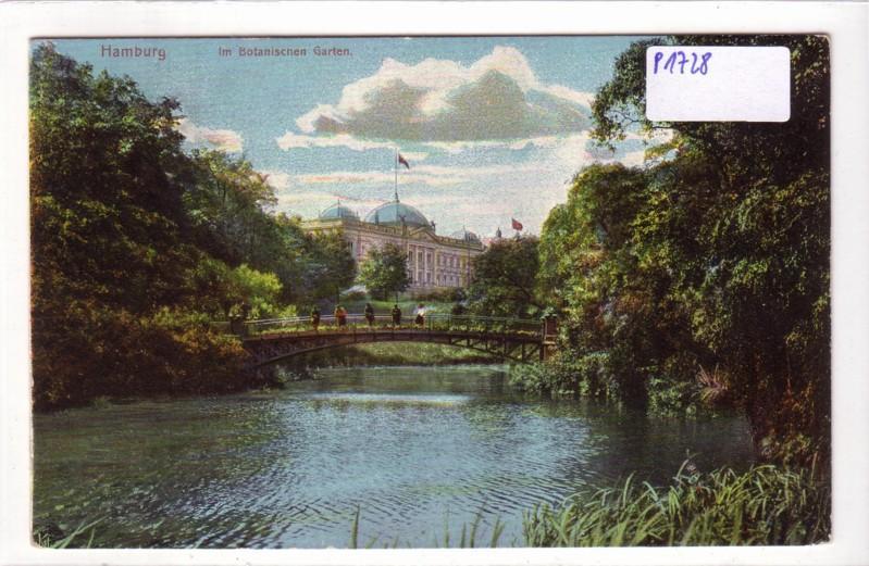 AK Hamburg Im Botanischen Garten