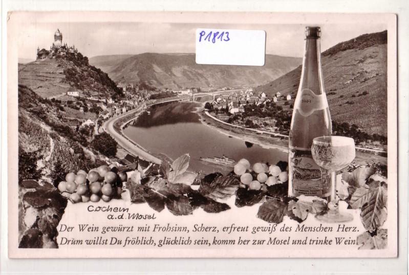 AK Cochem an der Mosel Wein