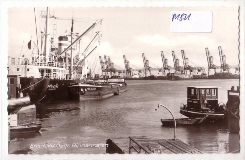 AK Emden Ostfriesland Binnenhafen