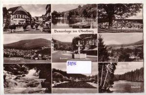 AK Braunlage im Oberharz Mehrbildkarte Damenkapelle Rosenthalbank 1962 gelaufen