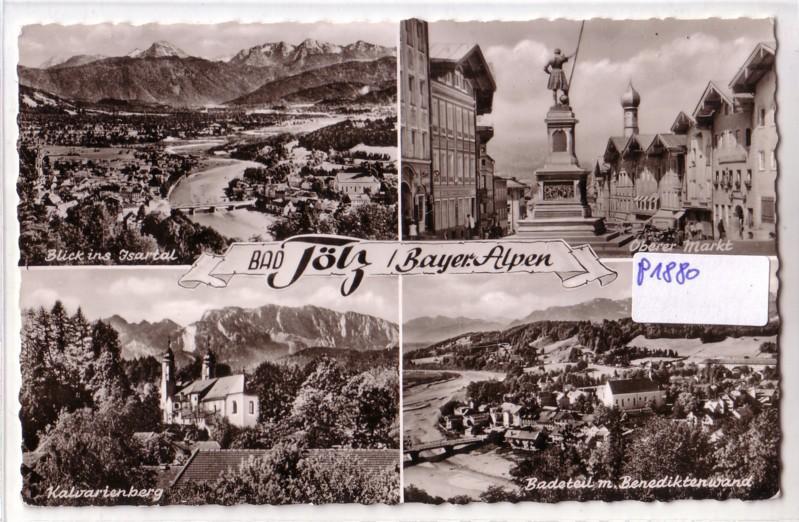 AK Bad Tölz Bayerische Alpen