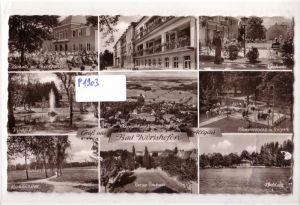 AK Gruß aus Bad Wörishofen Mehrbildkarte Kurviertel Kinderheilstätte Birkenallee 1959 gelaufen