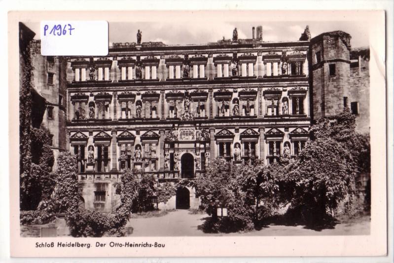 AK Heidelberg Schloß Der Otto-Heinrichs-Bau
