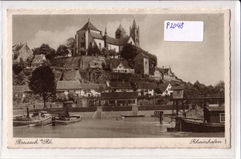 AK Breisach am Rhein Rheinhafen