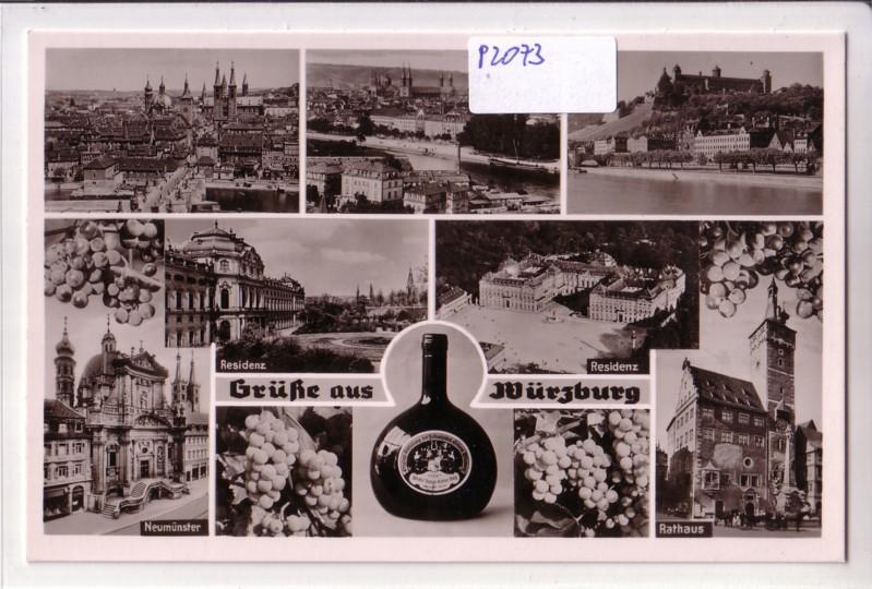 Grüße aus Würzburg