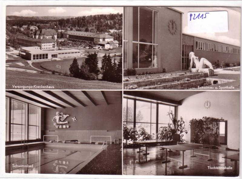 Bad Tölz Versorgungs-Krankenhaus mit Kurabteilung