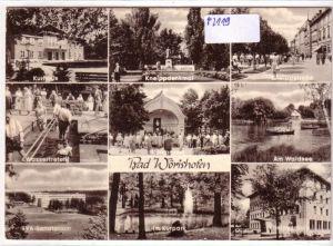 AK Bad Wörishofen Mehrbildkarte LVA-Sanatorium 1967 gelaufen