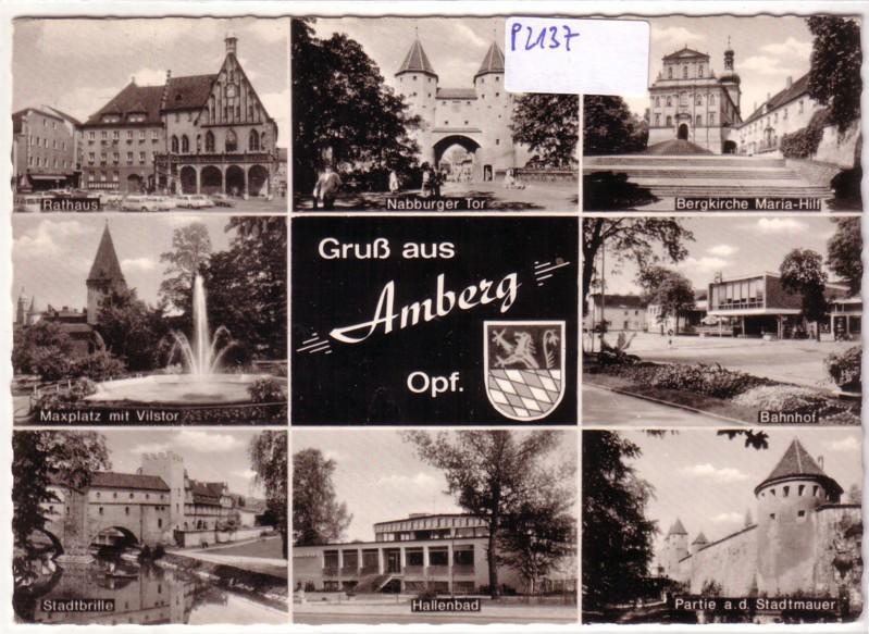 Gruß aus Amberg Oberpfalz