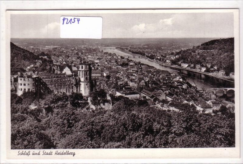 Schloß und Stadt Heidelberg