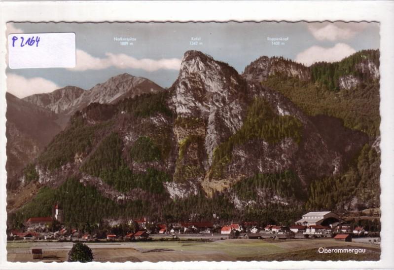 Oberammergau mit Bergpanorama