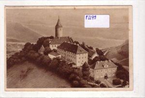AK Das schöne Deutschland Bild 143: Leuchtenburg bei Kahla a. Saale 1935 gelaufen
