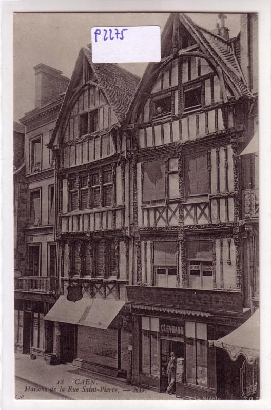 Caen Maisons de la Rue Saint-Pierre