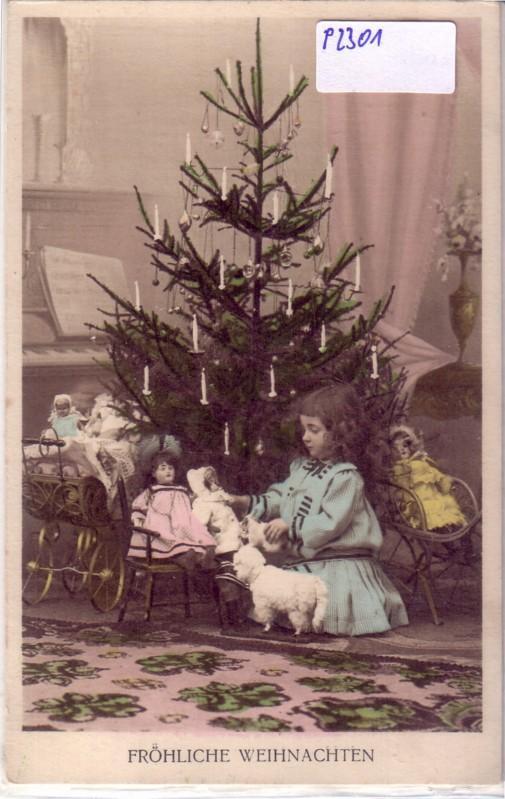 k nstler ak fr hliche weihnachten mann mit tannenbaum auf. Black Bedroom Furniture Sets. Home Design Ideas