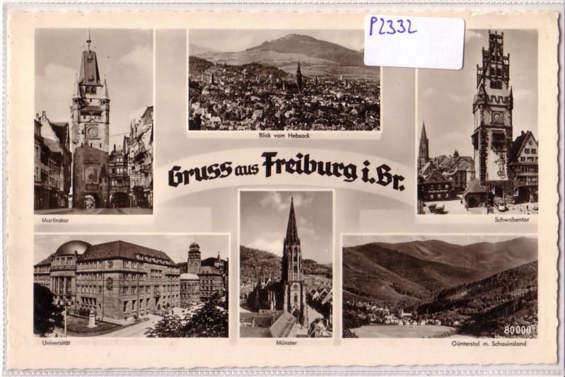 Gruß aus Freiburg im Breisgau / Universität Schwabentor