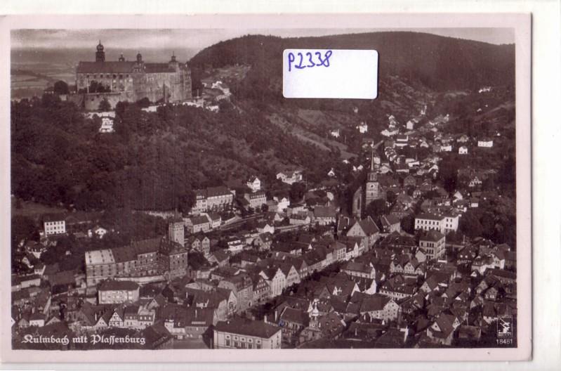 Kulmbach mit Plassenburg / Flieger-Foto Luftaufnahme