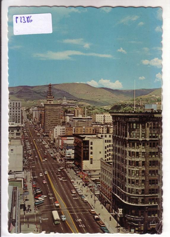 Main Street Salt Lake City Utah USA