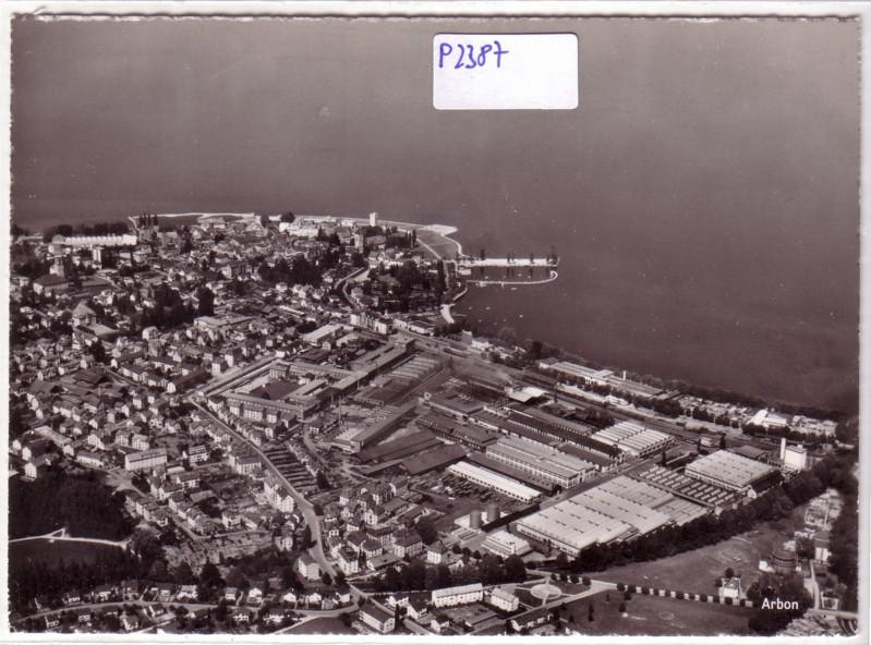 Arbon Flugaufnahme Luftbild