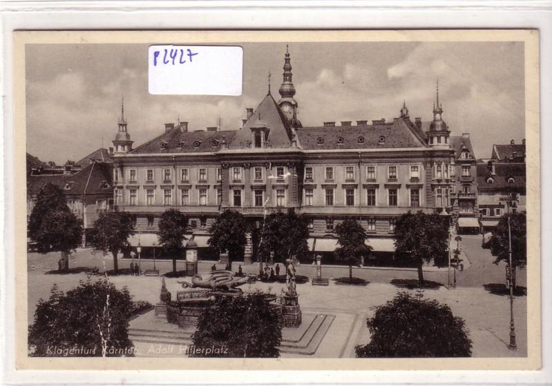 Klagenfurt Kärnten Adolf Hitlerplatz