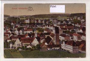 AK Kurort Bad Wörishofen Litho Lithografie wohl 1932 gelaufen