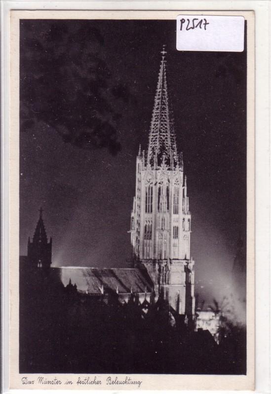 Das Münster in festlicher Beleuchtung - Deutsche Heimatbilder 68